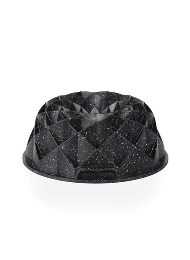 Acar Acar XDD-11742 Diamond Döküm Granit Kek Kalıbı Siyah Renkli